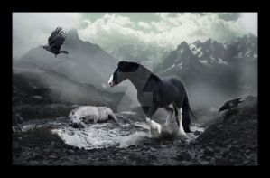 howling ghosts, they reappear. by horsecrazycool