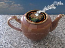 Steamed Teapot by lousephyr
