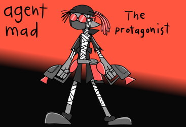 splatoon agent mad by BloodHaven666