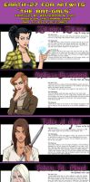 Earth-27 for Nitwits - Bat-Gals by Roysovitch