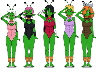 Space Amazons Bio by HypnolordX