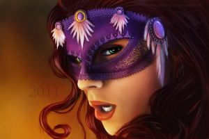 The mask by FedeSchroe