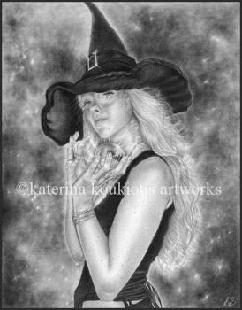 Wicked Witch by Katerina-Art