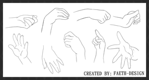 Manga Hands by Faeth-design