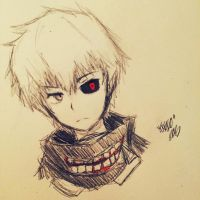 Tokyo Ghoul by Tkeio