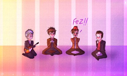 Doctor who|Chibi cuties by Dashigriffins