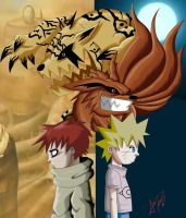 Naruto demons by Master-Angel
