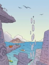 Moebius Tribute 02 by Sismisic