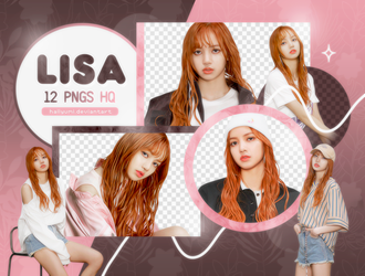 PNG PACK: Lisa #1 by Hallyumi