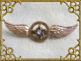 Airship Captin flight wings by Teacat-Designs