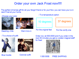 Order your jack frost by emixfrost666