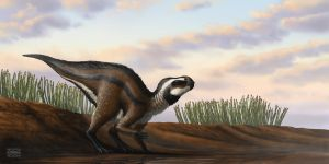 Early Rhabdodontid of Lower Cretaceous Europe by MicrocosmicEcology