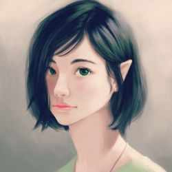 Face study by Wolka-Art
