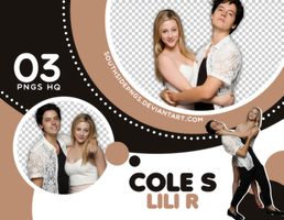 Png Pack 3628 - Cole Sprouse Y Lili Reinhart by southsidepngs