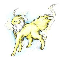EeveeFanClub Contest Entry: The Legendary Bolt by soulsilver12