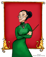 HP Portrait Series-McGonagall by Ashwin24