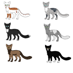 Adoptable batch: OPEN #1 (FLAT PRICE) by SquiggleCreator
