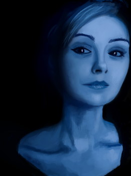 Woman Color Study by MFFchaos