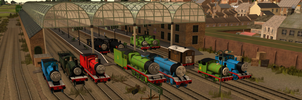 Thomas Trainz-The Whole Steam Team by Wildcat1999