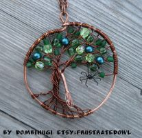 Witch Tree Pendant By Dombihugi by DombiHugi