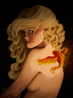 Elyon And The Little Fire Bird by Andymy