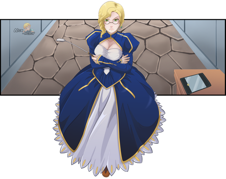 from saber to caster. by Alex-kellar
