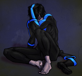 Emo Nightwing by Spartichi