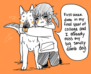 College and Tobi by Natsukoii
