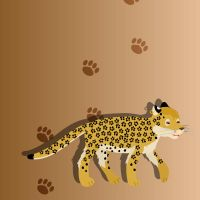 Cartoon Style Leopard by Ayi82