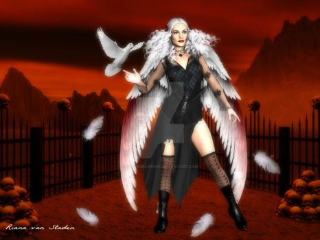 Aurora Angel by My-AngelWings