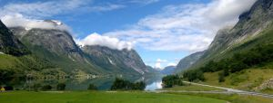 Fjord panorama by LorcanPL