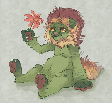look at the flowers by I-z-u-m