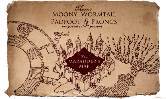 Marauder's Map Brush Set by hasuhime