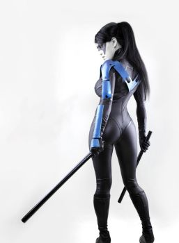 Nightwing is always Ready by VampBeauty
