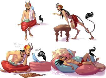 Farhes sketches by SilvesterVitale