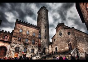 The Collegiata HDR by ISIK5