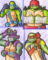 Rising of the Rise of TMNT by Chlodnikus