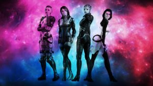 Ladies of Mass Effect Wallpaper by xdarknessfalls