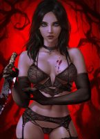 Alice Madness Lingerie by logancure