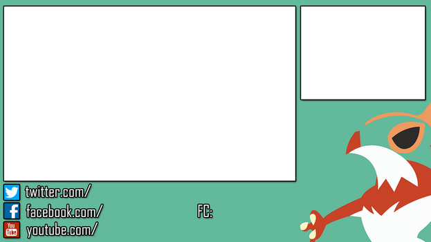 Hawlucha Stream Overlay for 3DS by NextPhaseDesign