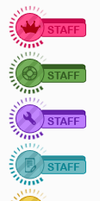 Loading staff ranks by IconSkoulikiGraphics