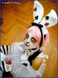 White Rabbit-AliceInWonderland by MoguCosplay
