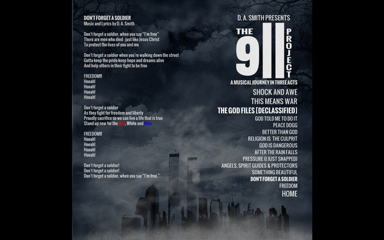 The 9/11 Project Web Site Mockup #7 by Mechatherium