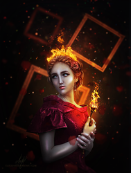 Fire Queen by EliF2015