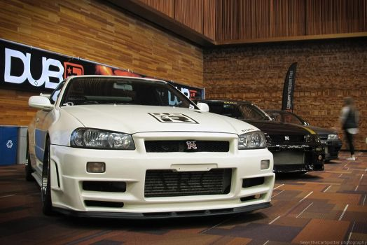 The Skyline GT-R Trio by SeanTheCarSpotter