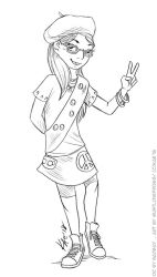 COM: Lola the Beacon Scout by MustLoveFrogs