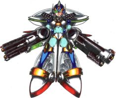 Megaman X Ultimate Armour by wil-d-wolf