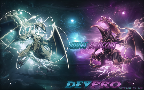 Chaos Dragons - DevPro Background by ArtieFTW