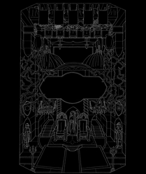 the Seeker of Calandreah - Throne Room/Dining Hall by guilen