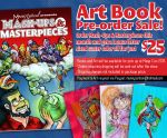 Art book Pre-Order by mannycartoon